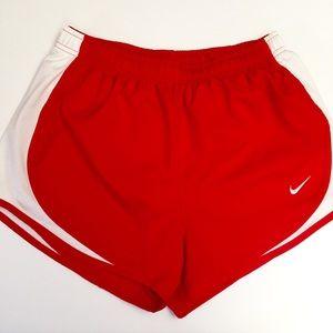 Nike Running Shorts Red Size Medium